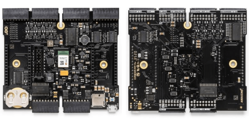 Arduino Edge Control top and bottom views