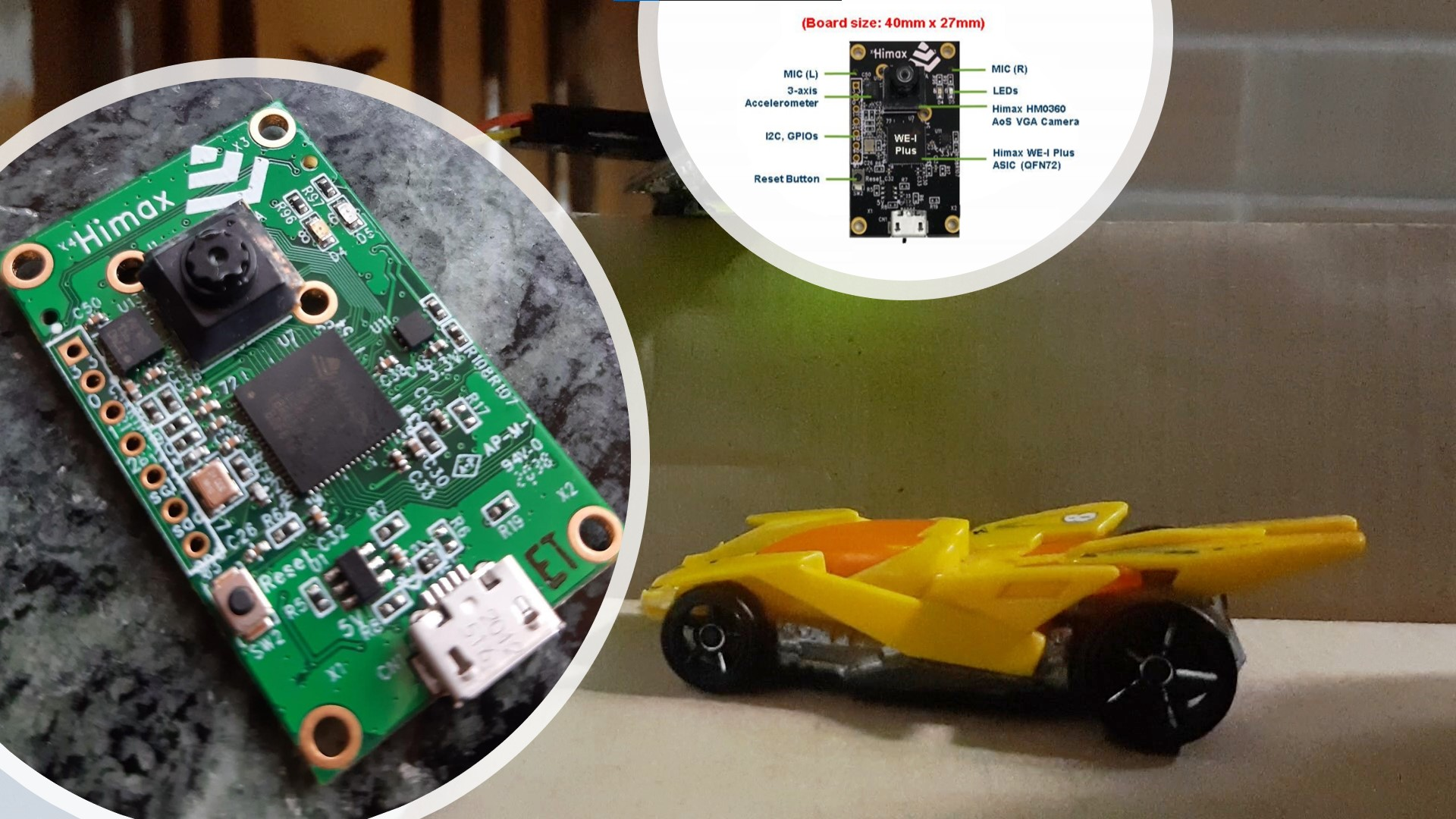 Smart City Application using Himax WE-I Plus EVB Endpoint AI Development Board Featured Image