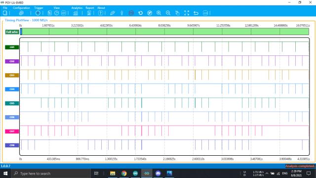PGY-LA-EMBD Logic Analyzer software