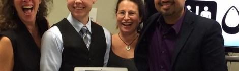 Dr. Steph Anderson defended her dissertation!