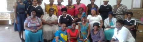 Dr. Puleng Segalo hosts community dialogue with embroidery collective