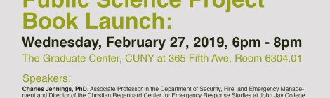 New York After 9/11 Book Launch Feb 27th