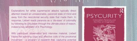 Psycurity Book Launch with CSP alum Dr. Rachel Liebert March 4th