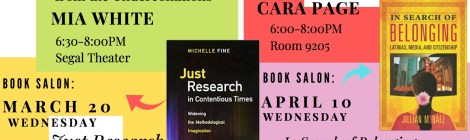 Center for the Study of Women and Society Spring Event Calendar