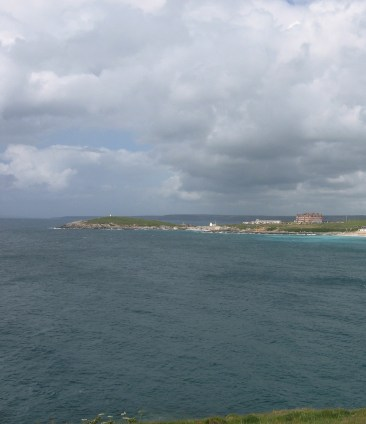 Towan Head and Fistral Bay