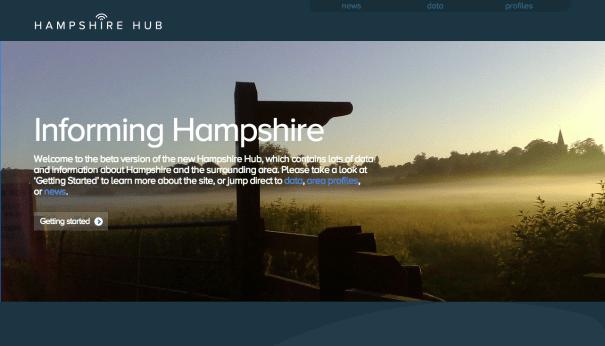 Hampshire Hub Homepage