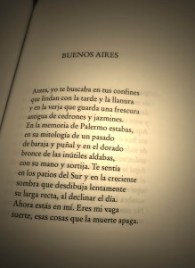 We will end with what Borges had to say about Buenos Aires