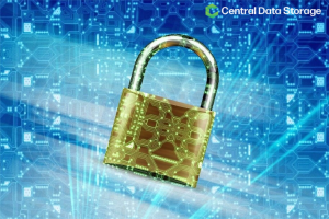 cybersecurity-padlock-protecting-HIPAA-compliant-data-backup