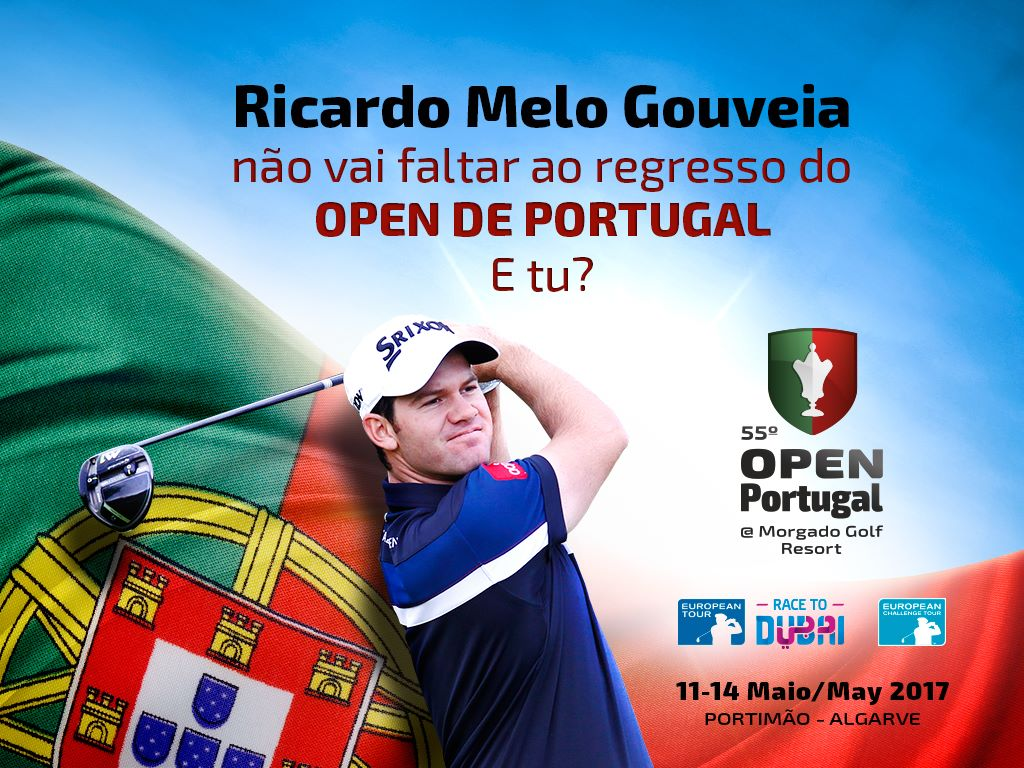 Ricardo Melo Gouveia is not going to miss the Open de Portugal, how about you?
