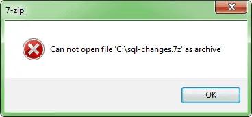 open 7z files