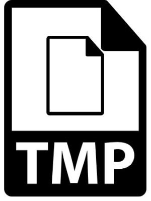 what is a tmp file