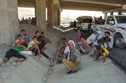 Iraq: Seeking shelter