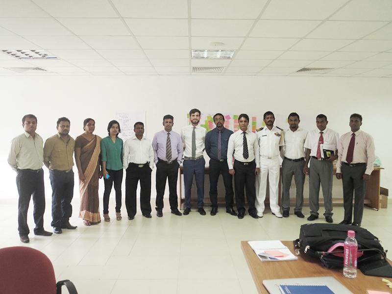CfR Sri Lanka Workshop Team photo