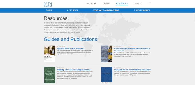 OpenDRI Resource Library