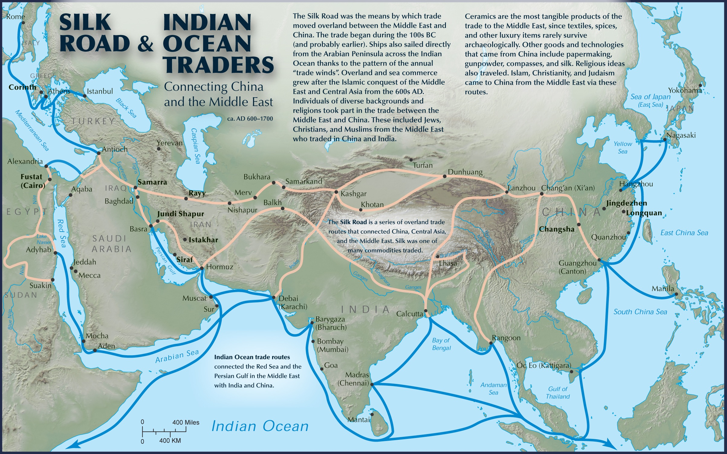 The Silk Road International Trade And Global Prosperity