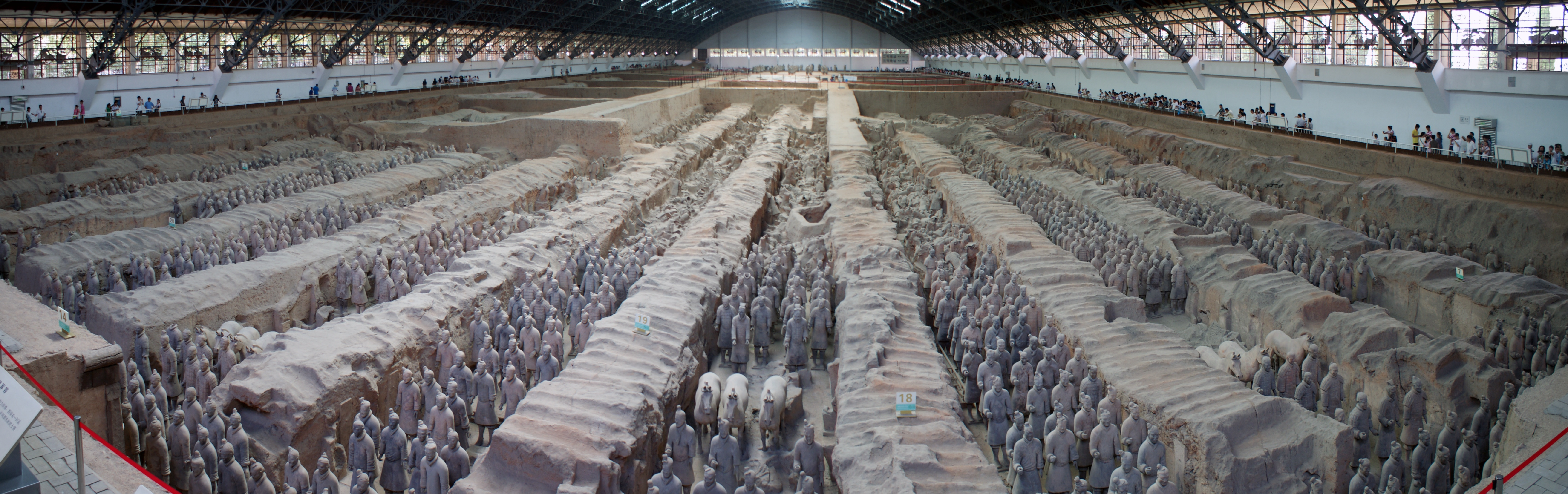 The Terracotta Army Of Qin Shi Huang And The Projection Of