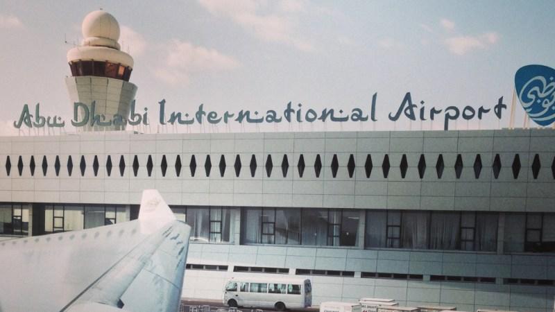Aéroport, aéroport international d'abou dabi, émirats arabes unis, Etihad Airways