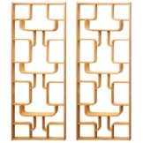 Pair Of Room Dividers / Bookcase. Iconic Design By Drevopodnik