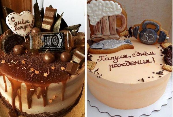 Как украсить торт на день рождения своими руками маме ...