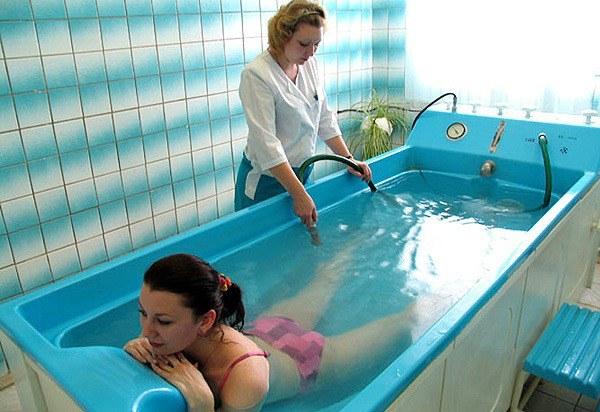 Для чего нужны радоновые ванны