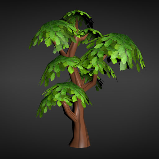 Low Poly Tree Opengameart Org
