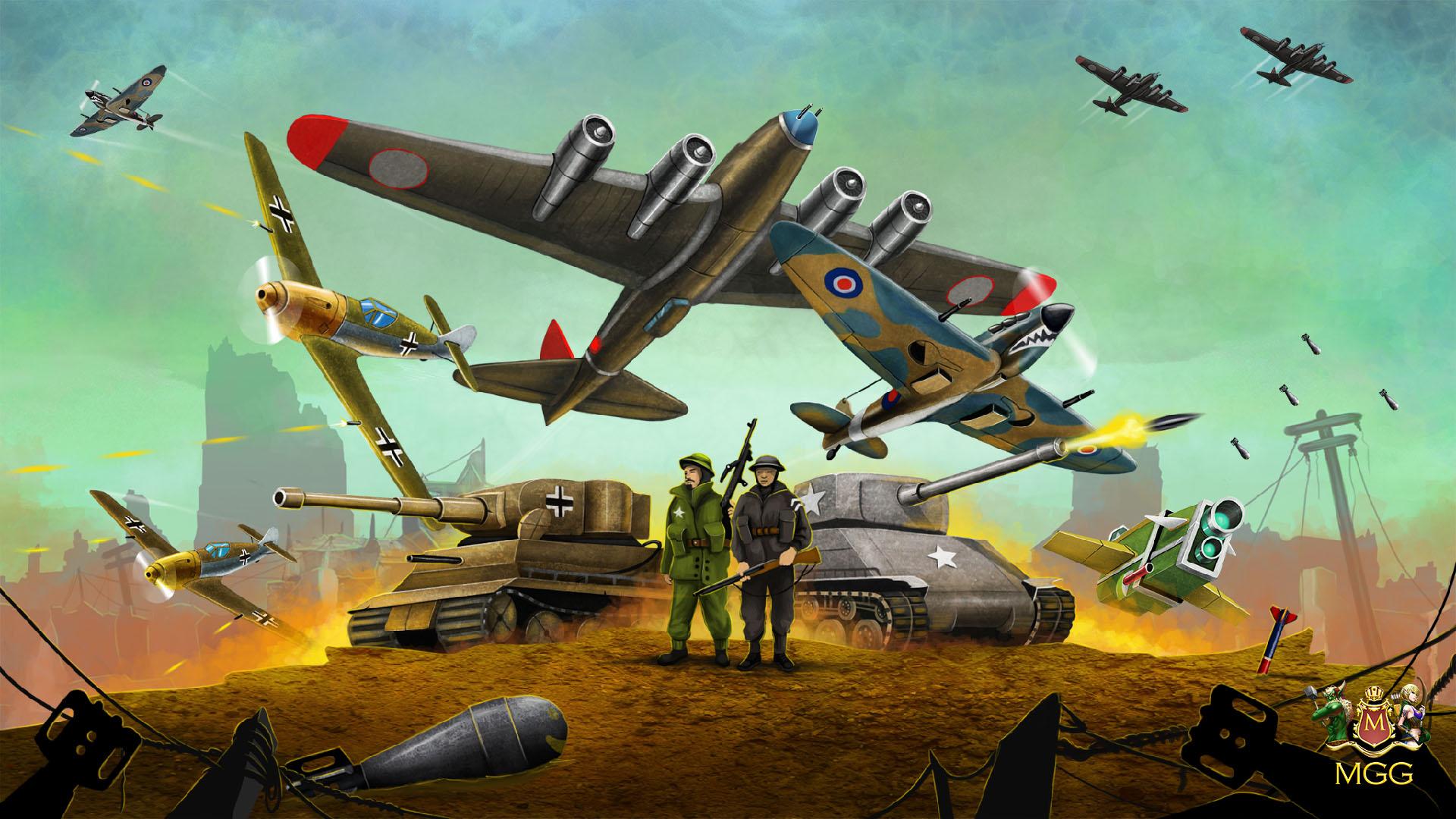 Free World War Game Theme