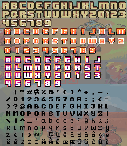 Download Superpowers assets bitmap fonts | OpenGameArt.org