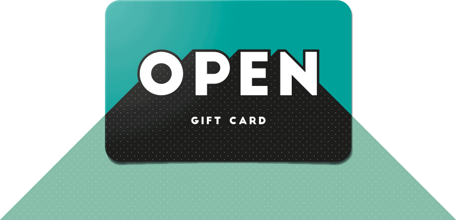 OPEN Gift Card Join Now Banner