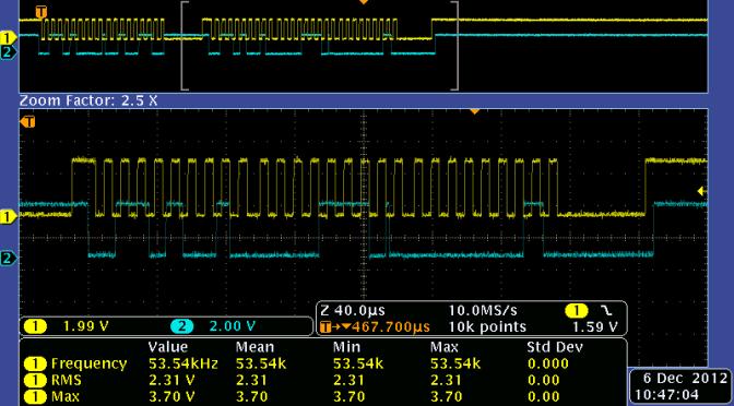 Analizador de bus I2C para Arduino, busca y lista que dispositivos I2C están conectados al bus.
