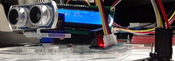 Ejercicio con Arduino, compás HMC5883L, Display I2C y servo con librerías servoTimer2