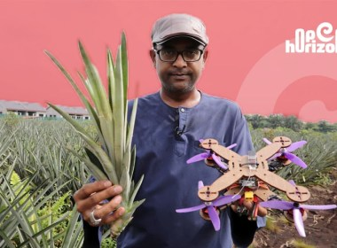 malaysia-pineapple-waste-disposable-drone-parts-putra-university-professor