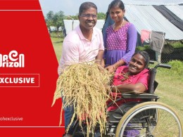 nature-farming-as-if-in-a-wheelchair-goddess-indira