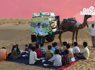 camel-cart-library-for-children-in-rajasthan