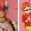 Who is featured in Air India 'Maharaja' advertisement?