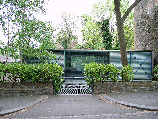 A Glass Box In Hampstead Architecture Hopkins House By