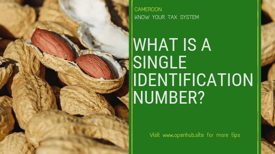 Single identification number