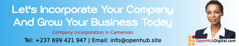 incorporate your company in Cameroon