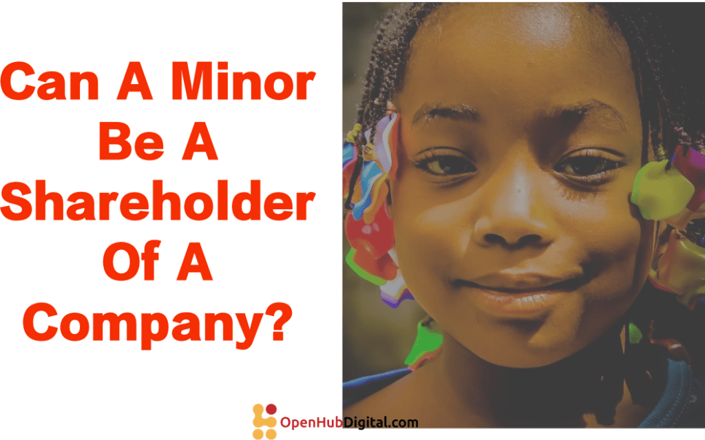 minor child shareholders