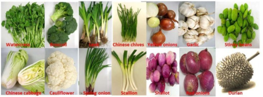 Organosulfide-rich fruits and vegetables.