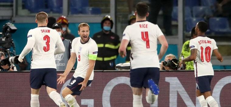 Denmark England semi-final at Wembley