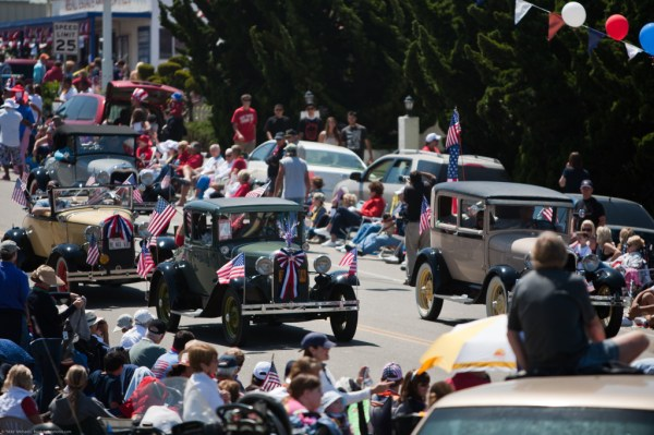 July 4th 2010 Parade in Cayucos, CA - an exhibition of Americana