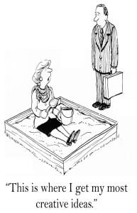 cartoon sandbox