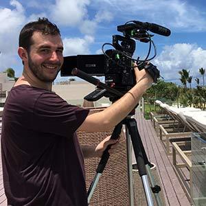 Headshot of Matthew Muszalski Videographer