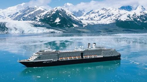 Holland America Line in Alaska.