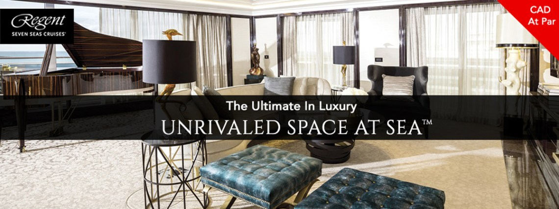 Regent - Unrivaled Space At Sea
