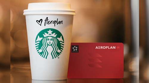 Aeroplan and Starbucks