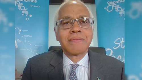 Dionisio D'Aguilar, Minister of Tourism & Aviation, The Bahamas.
