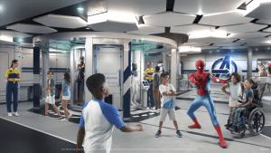Disney Wish - Disney's Oceaneer Club: Marvel Super Hero Academy