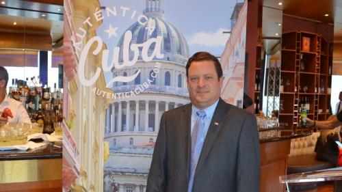 Lessner Gomez, Director of Cuba Tourist Board in Toronto.