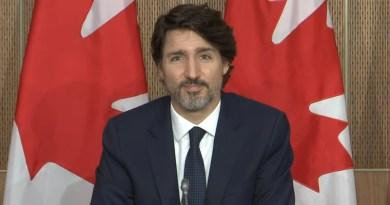 Justin Trudeau, Prime Minister of Canada border announcement